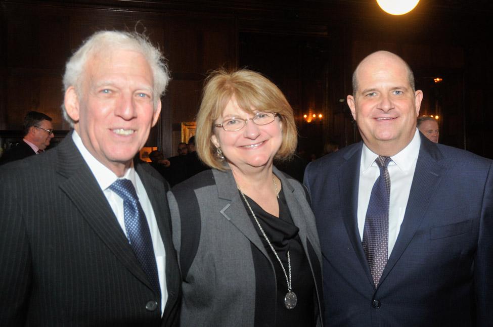 Randolph Deutsch and Nancy Rabstejnek with Joe Girven