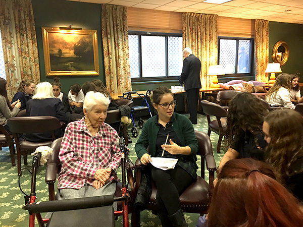 Intergenerational events at James Lenox House
