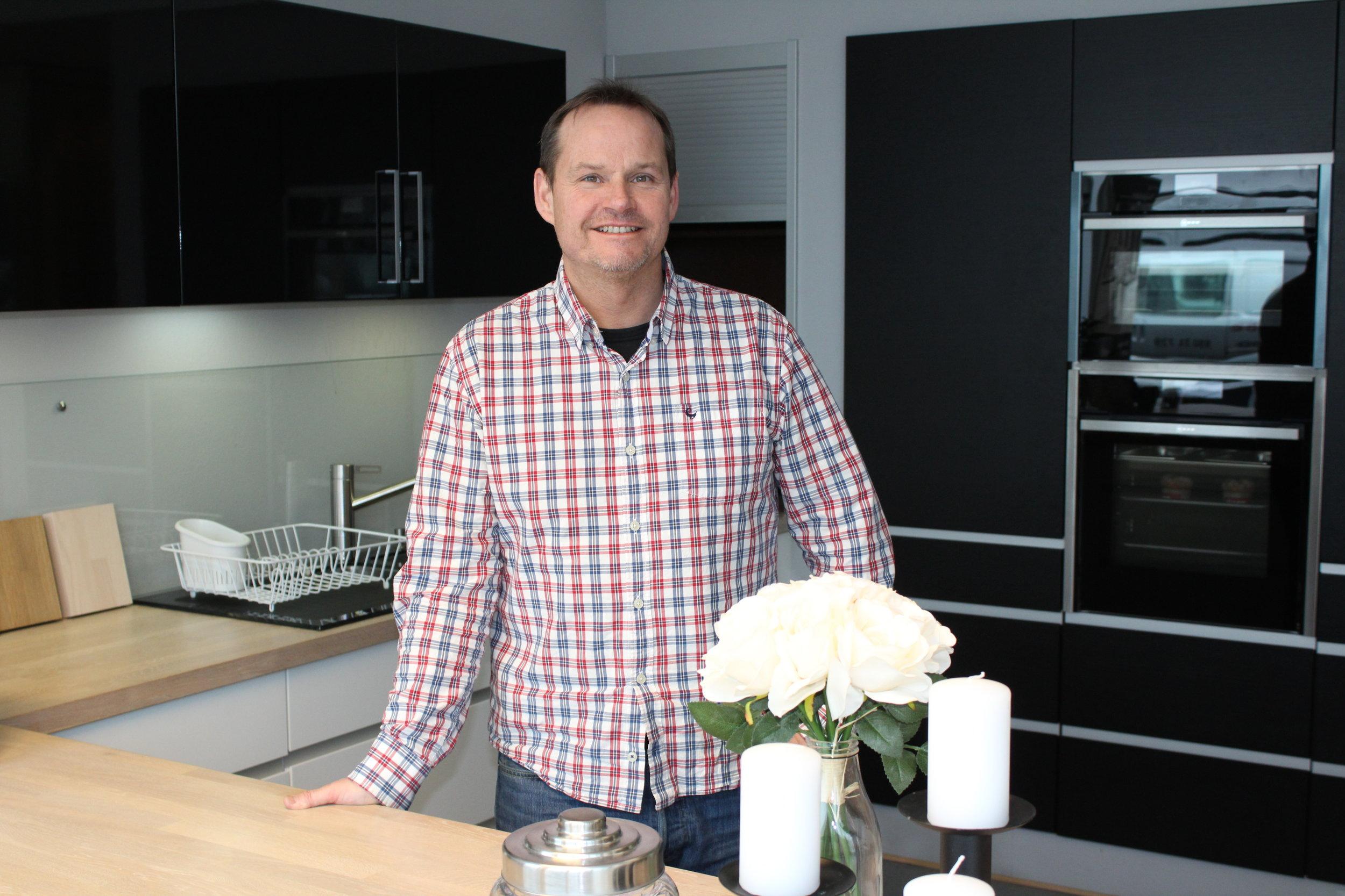Harald Engeset, dagleg leiar i Hygge Design AS