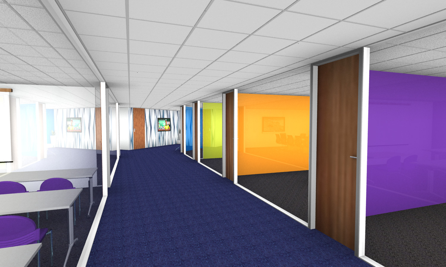 Corridor office refurbishment Newcastle.jpg