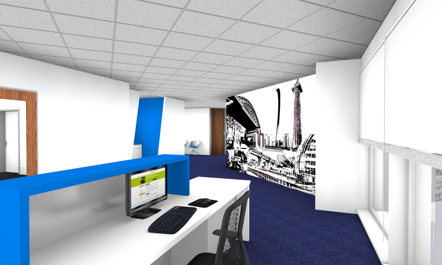Newcastle Reception Area office refurbishment.jpg