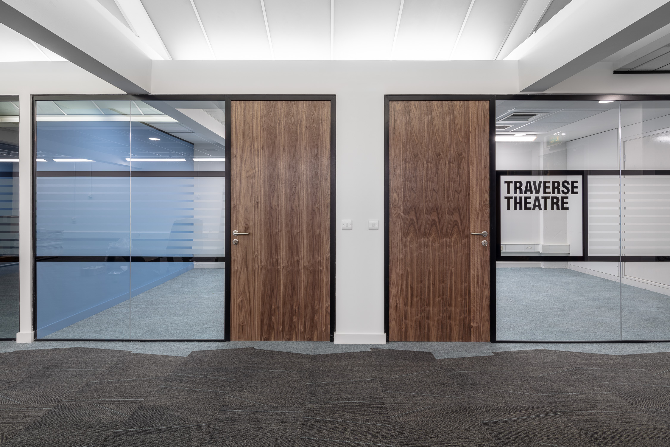 Office refurbishment for  Traverse Theatre Edinburgh