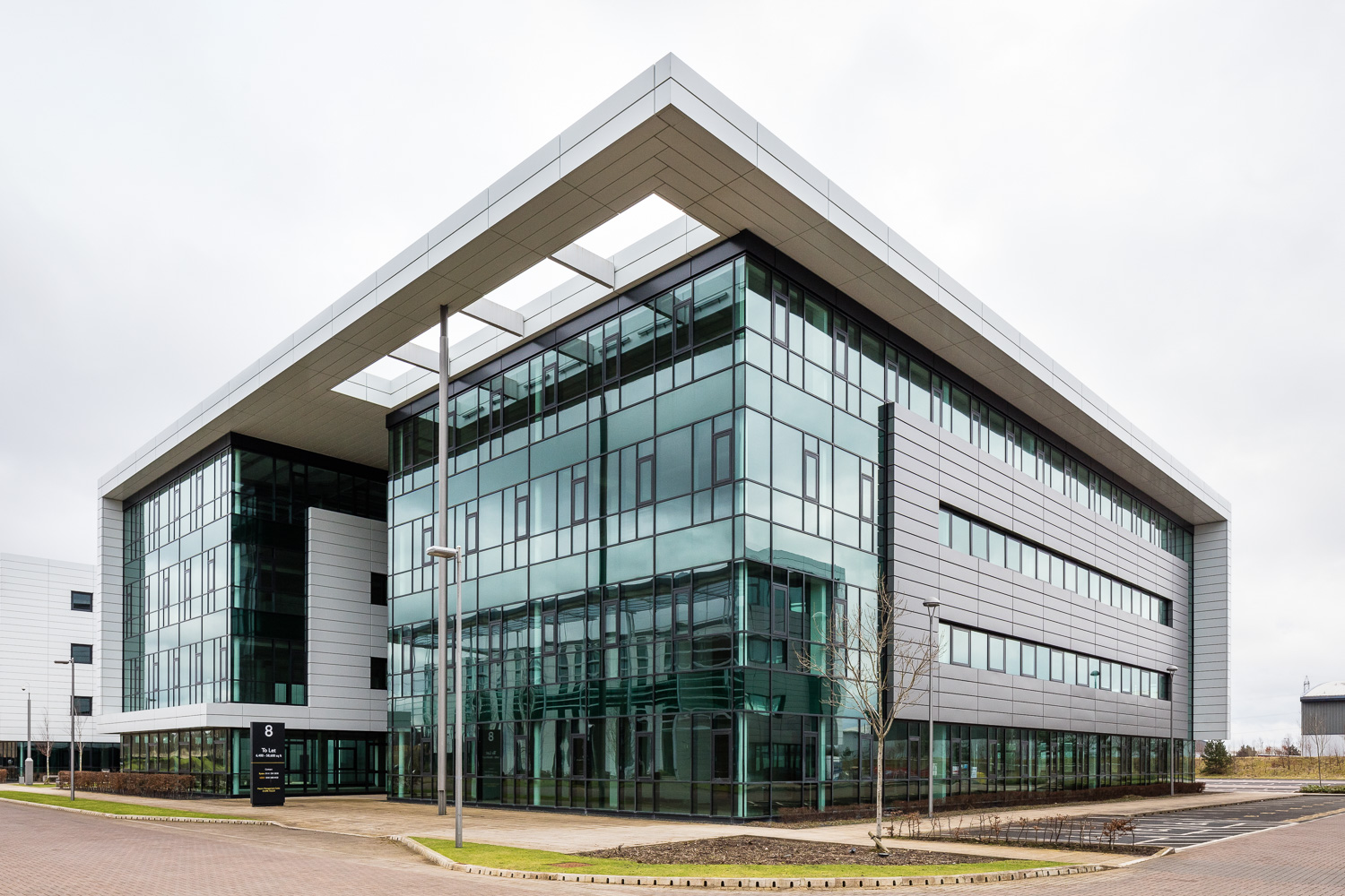 Maxim Office Park, Parklands Ave, alongside Scotland's M8 motorway Glasgow
