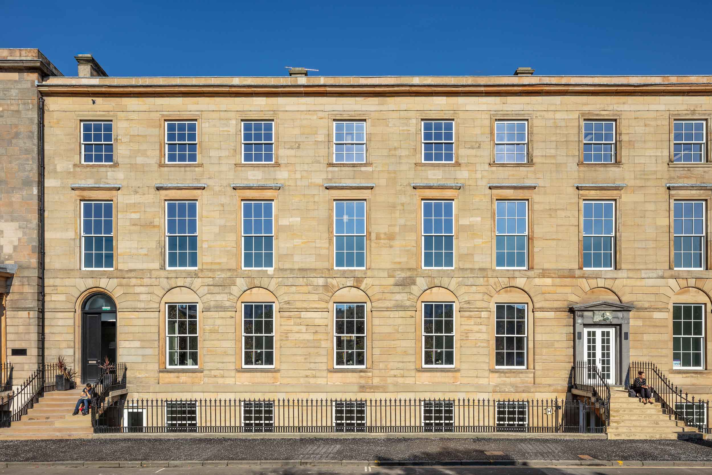Grade B listed office space at 2-4 Blythswood Square in Glasgow's city centre