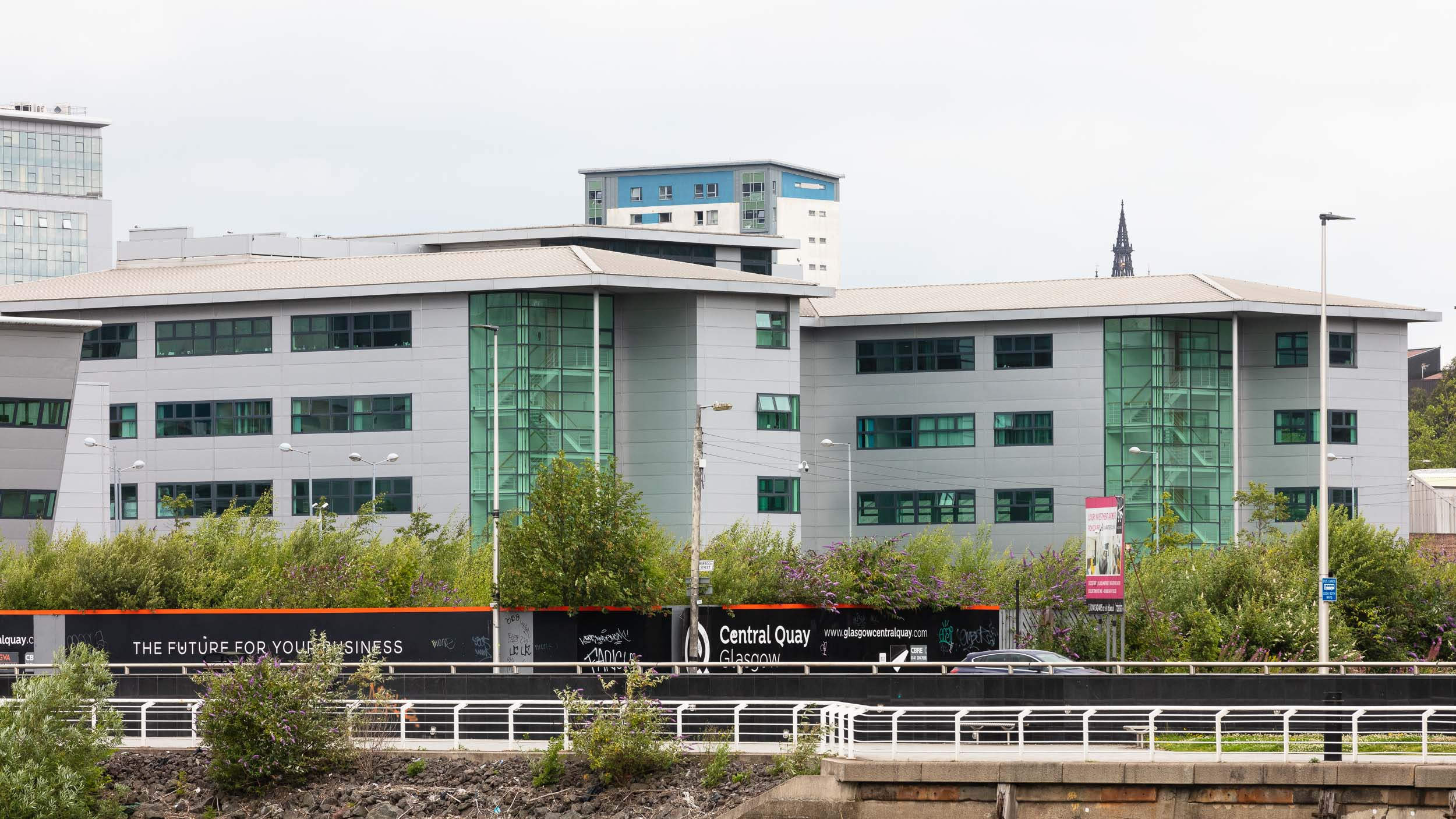 The future office for your business? 30,977 sq ft Grade A office space available at Central Quay on the Clyde in Glasgow