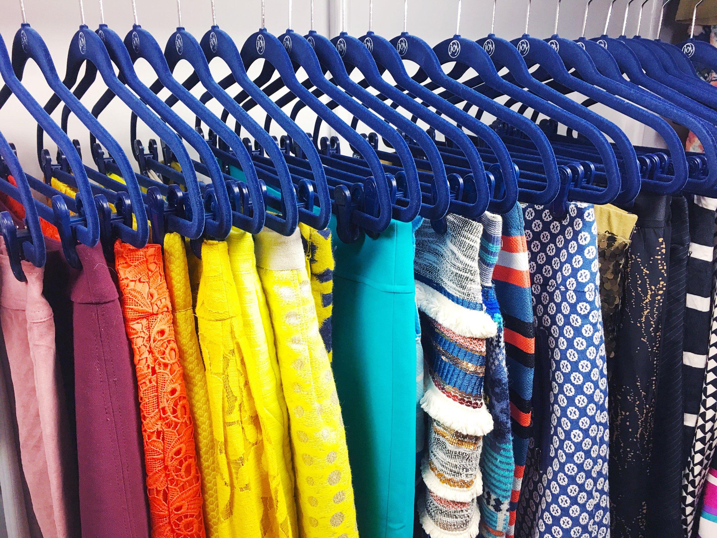 rainbow hangers