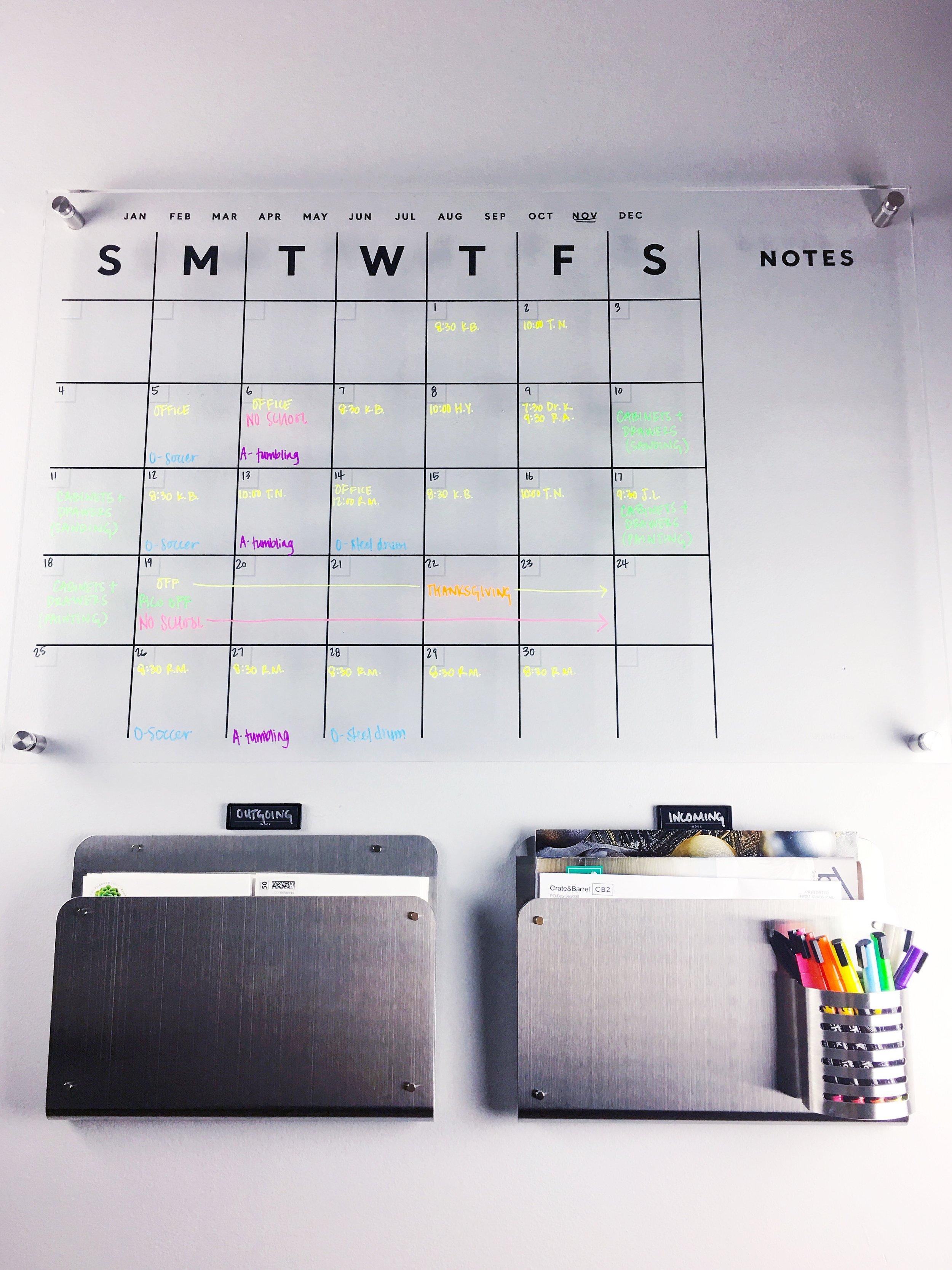 command center organized simplicity organization