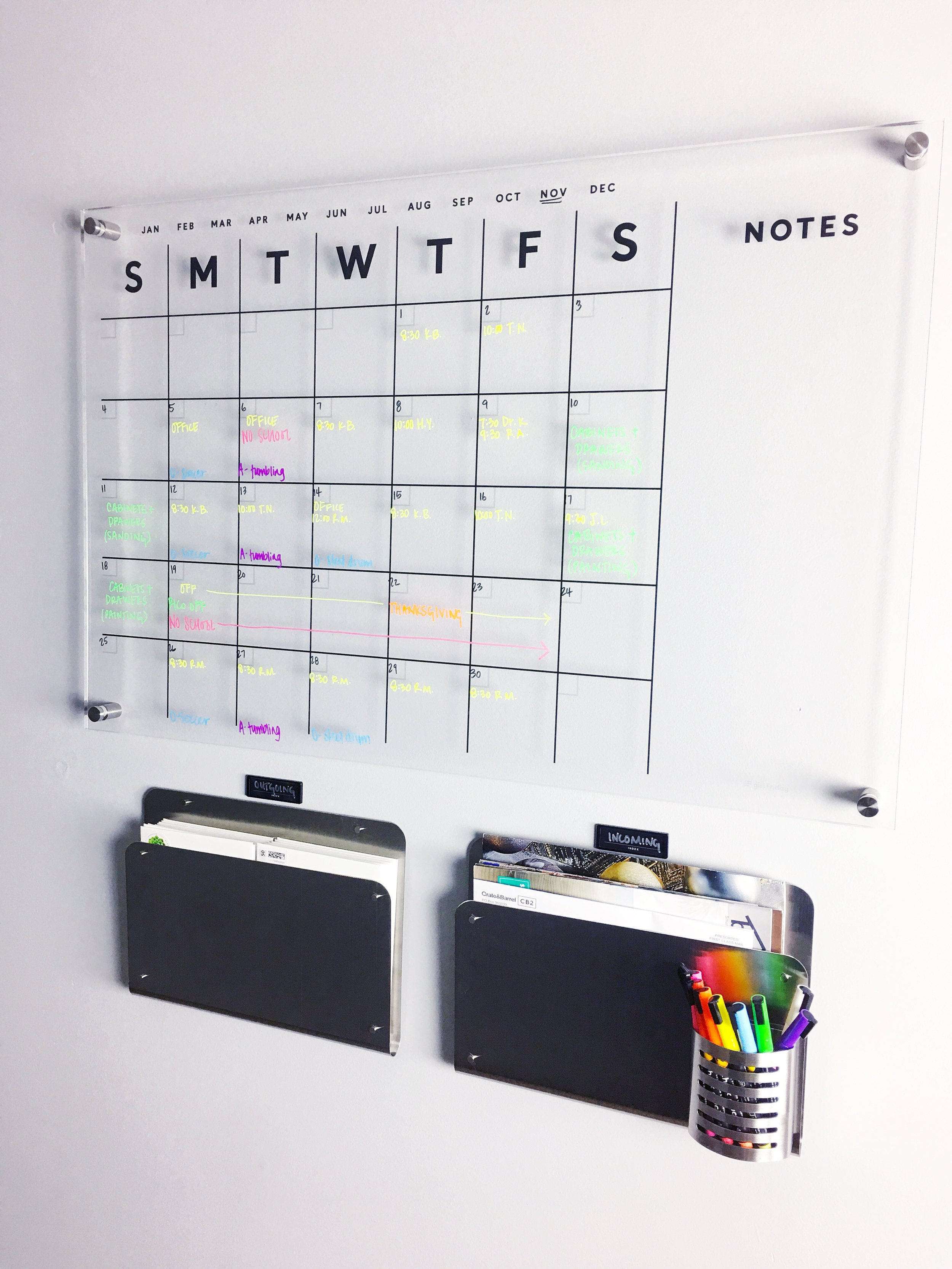 command center organizing organized simplicity
