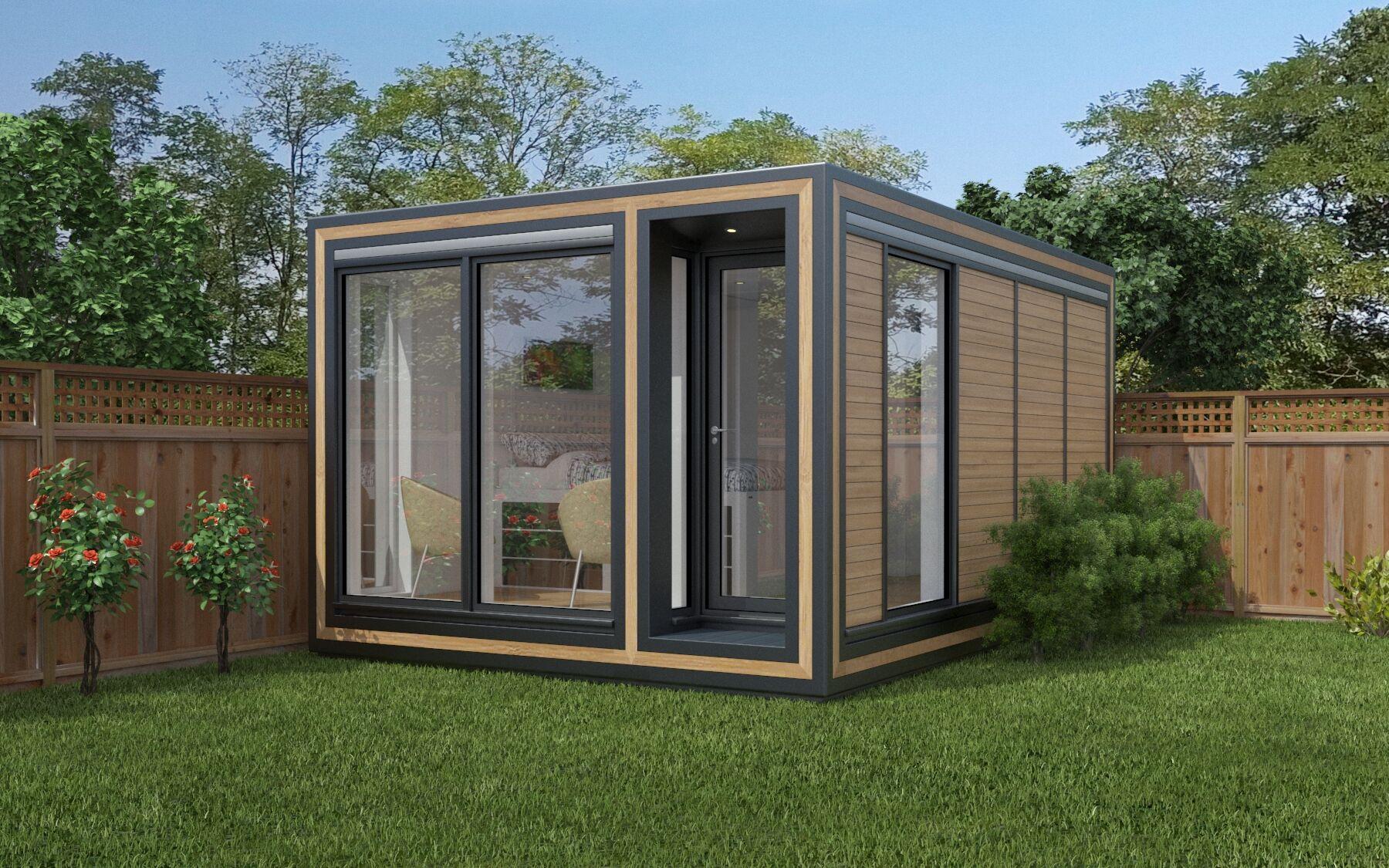 Zedbox 345 garden apartment offers great versatility and comfort.