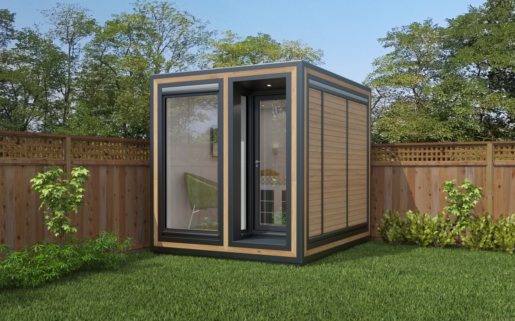 ZEDBOX 225  (2 x 2.5)  Internal Size: 2117x 2720  External Size: 2587 x 3190  Bed Options: Single  Kitchen Options: No  Wet Room Options: No  Portico: Yes  Price:  £15,000    Optional Extras    Request Zedbox Catalogue