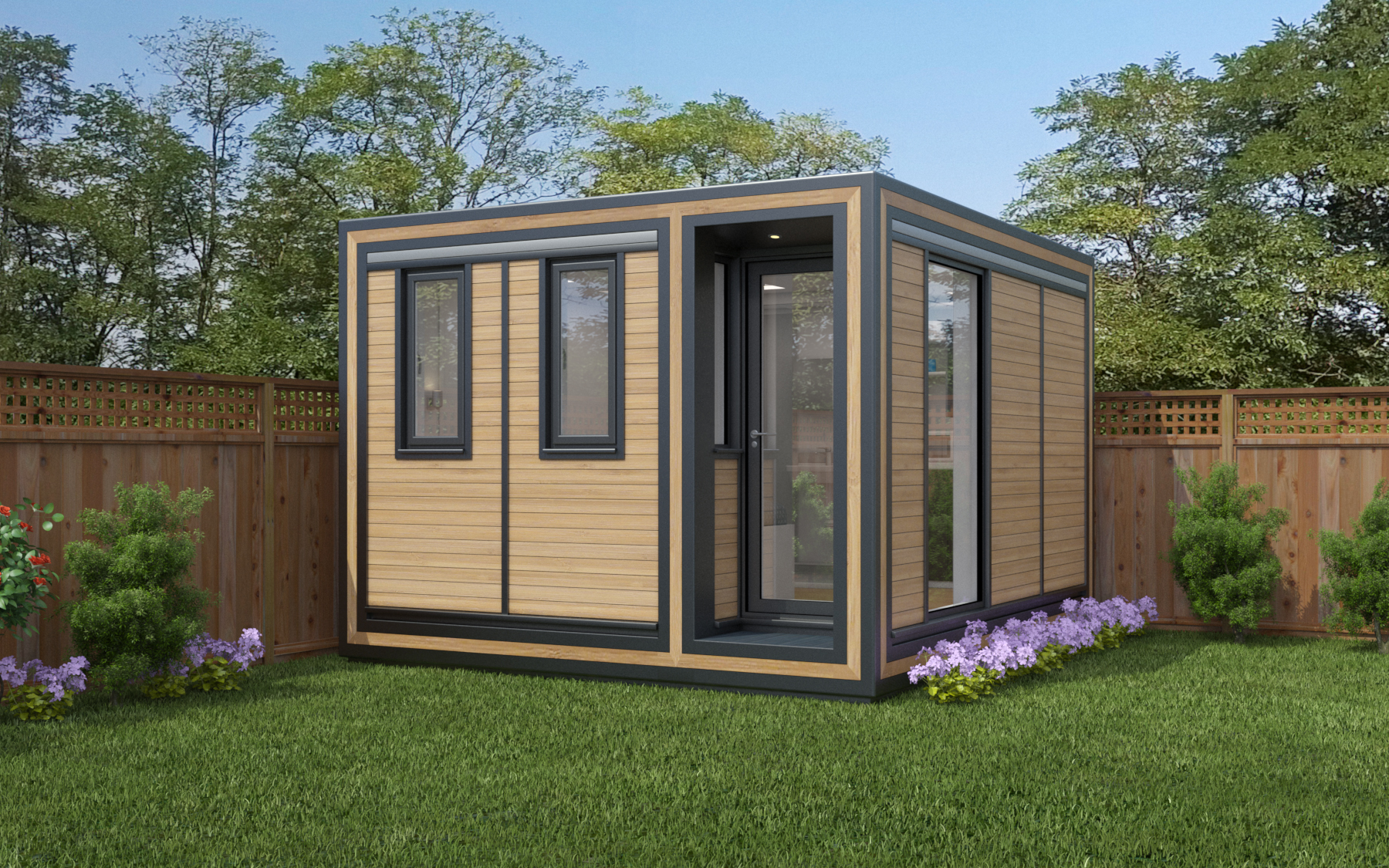 ZEDBOX 335  (3 x 3.5)  Internal Size: 3188 x 3791  External Size: 3658 x 4261  Bed Options: Single or Double  Kitchen Options: Micro Kitchen or Kitchen  Wet Room Options: Yes  Portico: Yes  Price:  £26,000    Optional Extras    Request Zedbox Catalogue