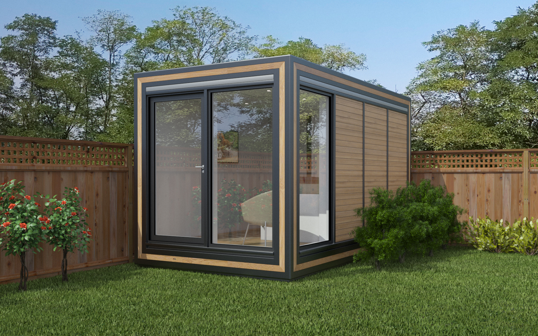 ZEDBOX 240  (2 x 4)  Internal Size: 2117x 4259  External Size: 2587 x 4279  Bed Options: Single  Kitchen Options: N/A  Wet Room Options: Yes  Portico: No  Price:  £19,000    Optional Extras    Request Zedbox Catalogue