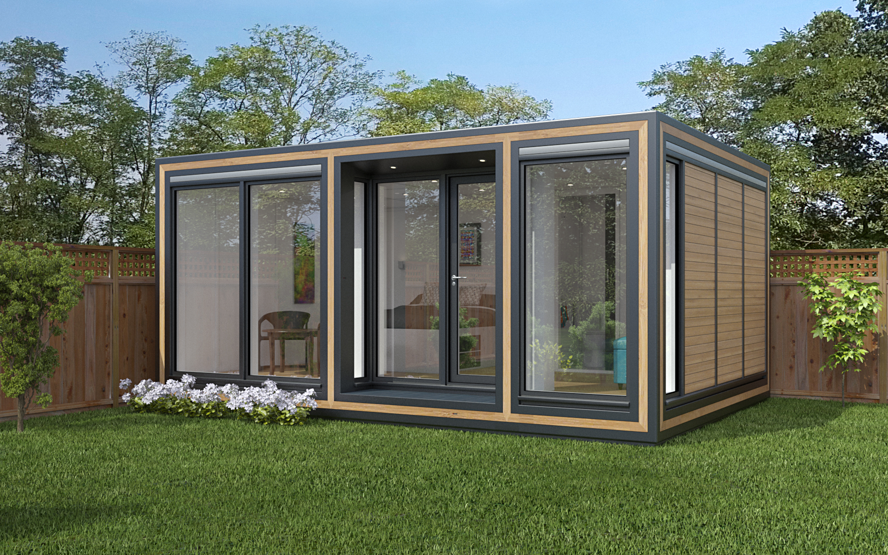 ZEDBOX 535  (5 x 3.5)  Internal Size:5800 x 4261  External Size: 5990 x 3791  Bed Options: Single or Double  Kitchen Options: Micro or Premier  Wet Room Options: Yes  Portico: Yes  Price:  £29,000     Optional Extras    Request Zedbox Catalogue