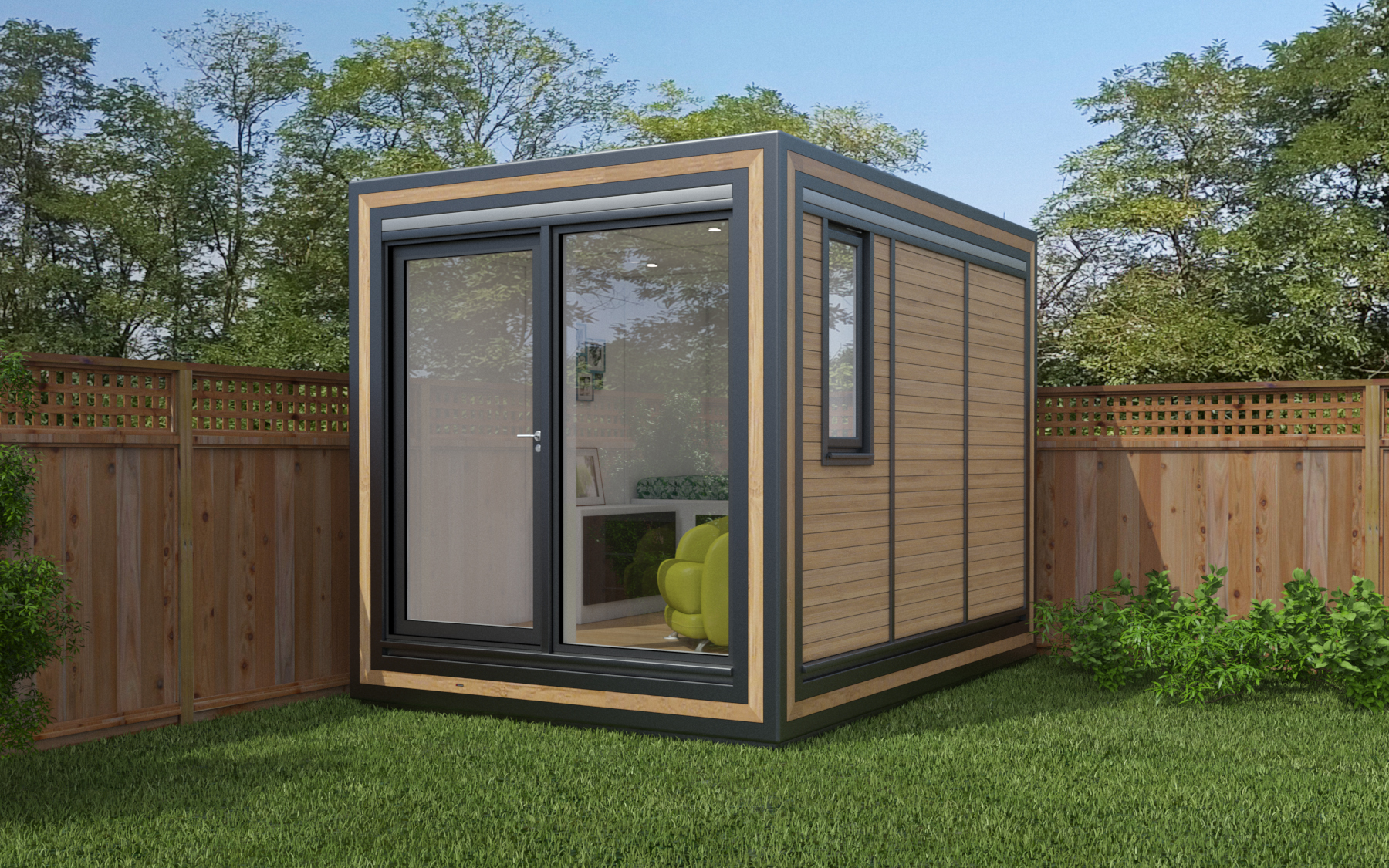 ZEDBOX 230  (2 x 3)  Internal Size: 2117 x 3188  External Size: 2587 x 3658  Bed Options: Single  Kitchen Options: N/A  Wet Room Options: Yes  Portico: No  Price:  £16,000    Optional Extras    Request Zedbox Catalogue