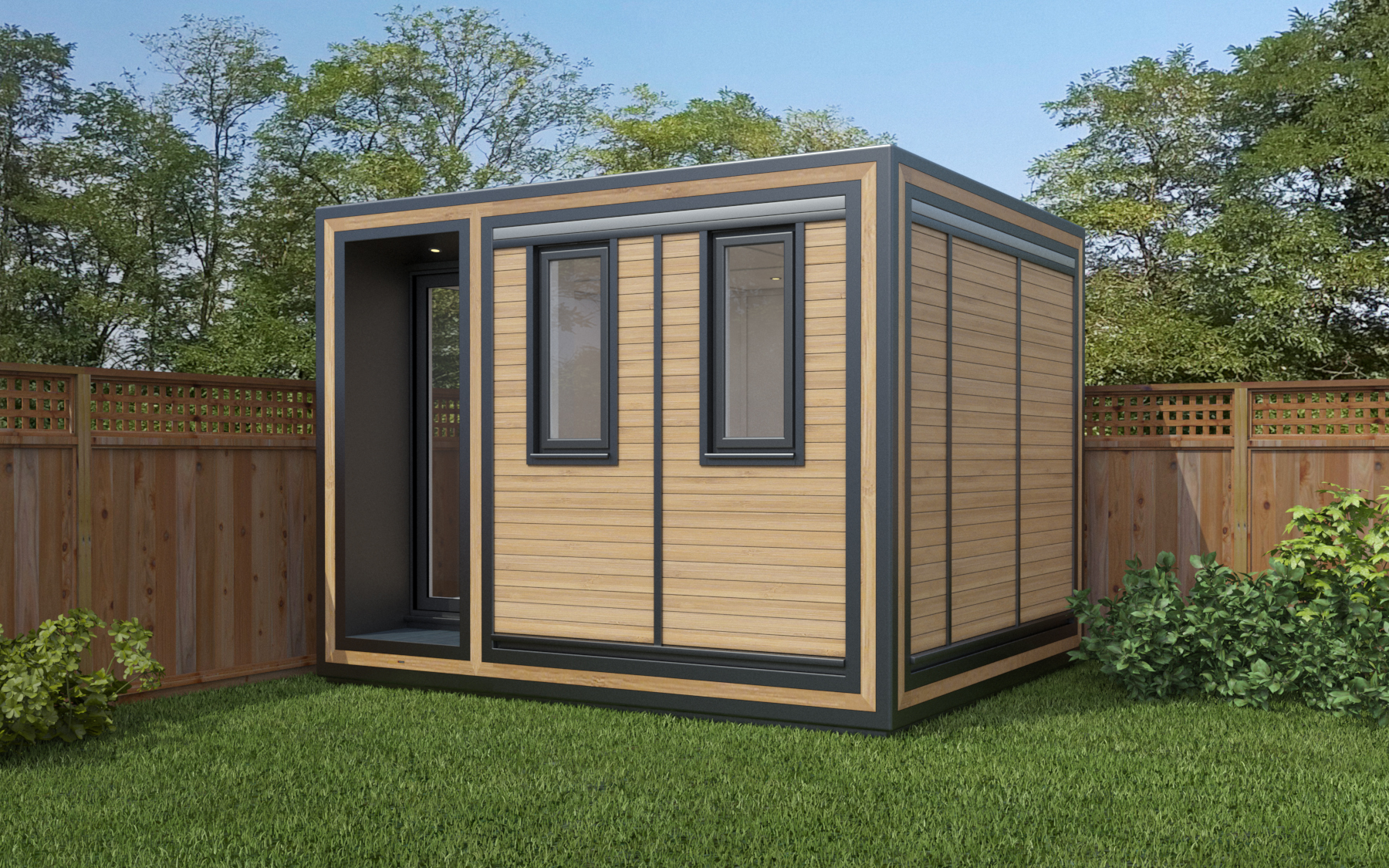ZEDBOX 325  (3 x 2.5)  Internal Size: 3188 x 2720  External Size: 3658 x 3190  Bed Options: Single  Kitchen Options: N/A  Wet Room Options: Yes  Portico: Yes  Price:  £18,000    Optional Extras    Request Zedbox Catalogue