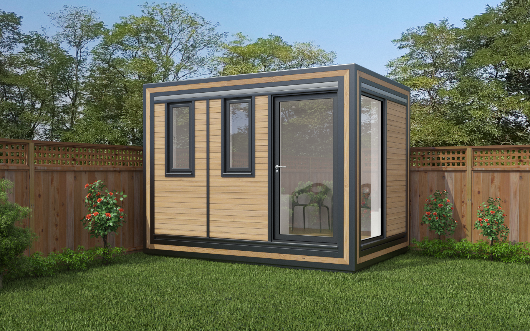 ZEDBOX 320  (3 x 2)  Internal Size: 3188 x 2117  External Size: 3658 x 2117  Bed Options: Single  Kitchen Options: N/A  Wet Room Options: Yes  Portico: No  Price:  £16,000    Optional Extras    Request Zedbox Catalogue