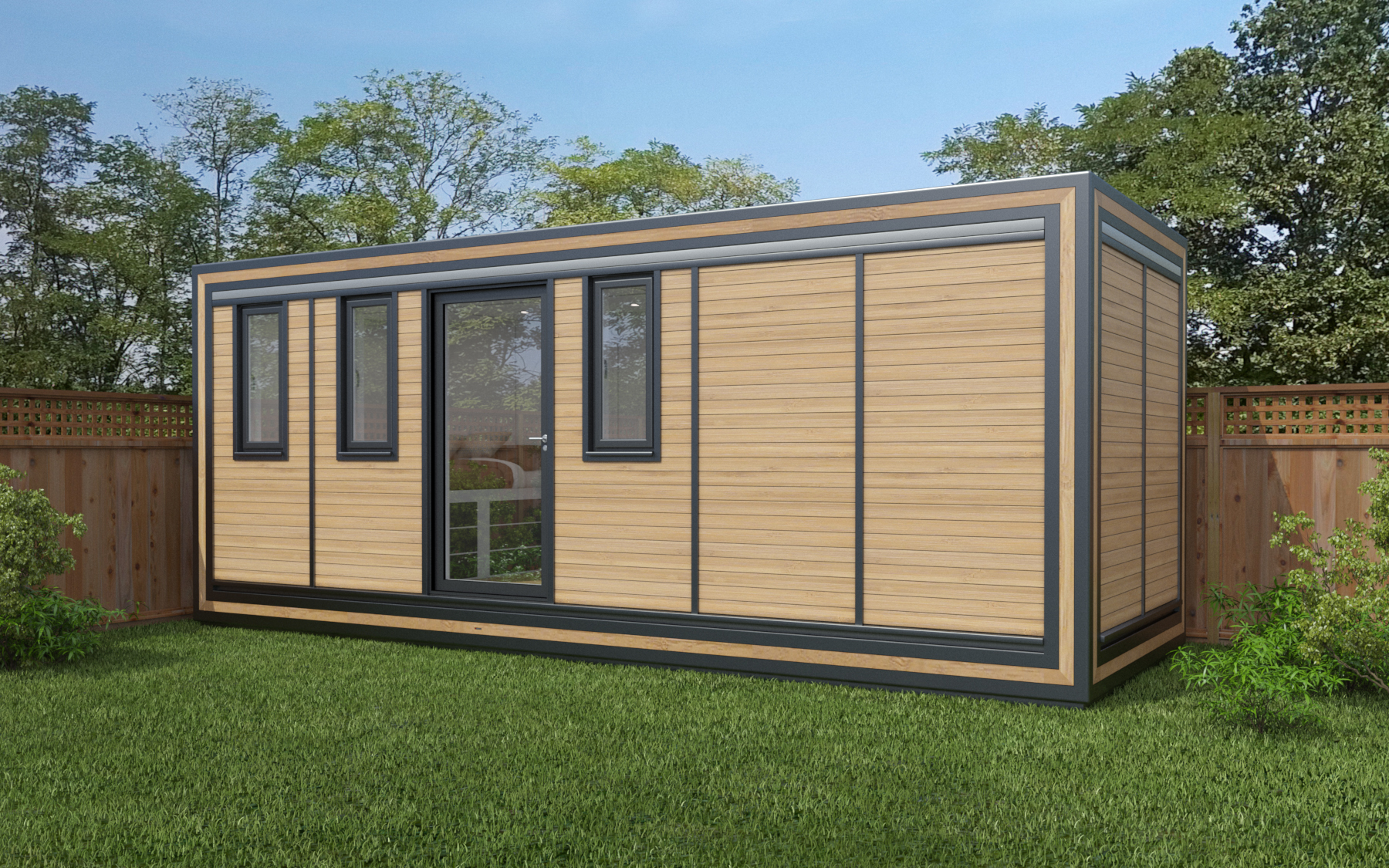 ZEDBOX 620  (6 x 2)  Internal Size: 6401 x 2117  External Size: 6871 x 2587  Bed Options: Single or Double  Kitchen Options: Micro Kitchen  Wet Room Options: Yes  Portico: No  Price:  £26,000    Optional Extras    Request Zedbox Catalogue