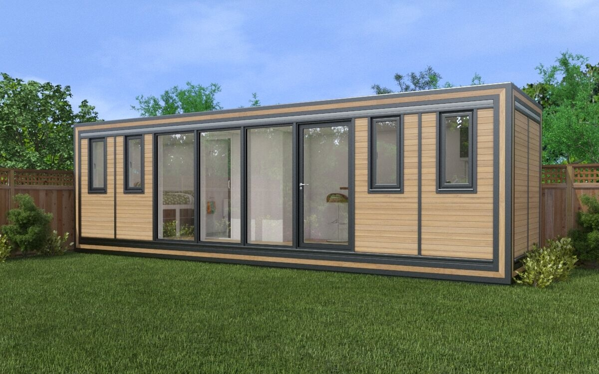 ZEDBOX 820  (8 x 2)  Internal Size: 8543 x 2117  External Size: 9013 x 2587  Bed Options: Single or Double  Kitchen Options: Micro Kitchen or Kitchen  Wet Room Options: Yes  Portico: No  Price:  £35,000    Optional Extras    Request Zedbox Catalogue