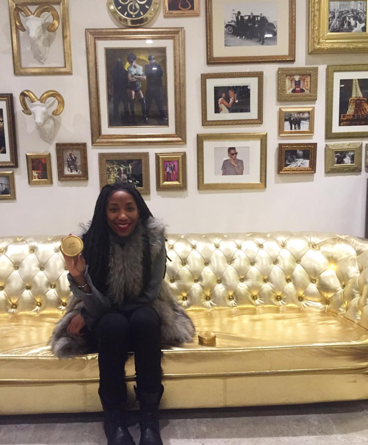 Denequa and the Gold Couch #goldstandard
