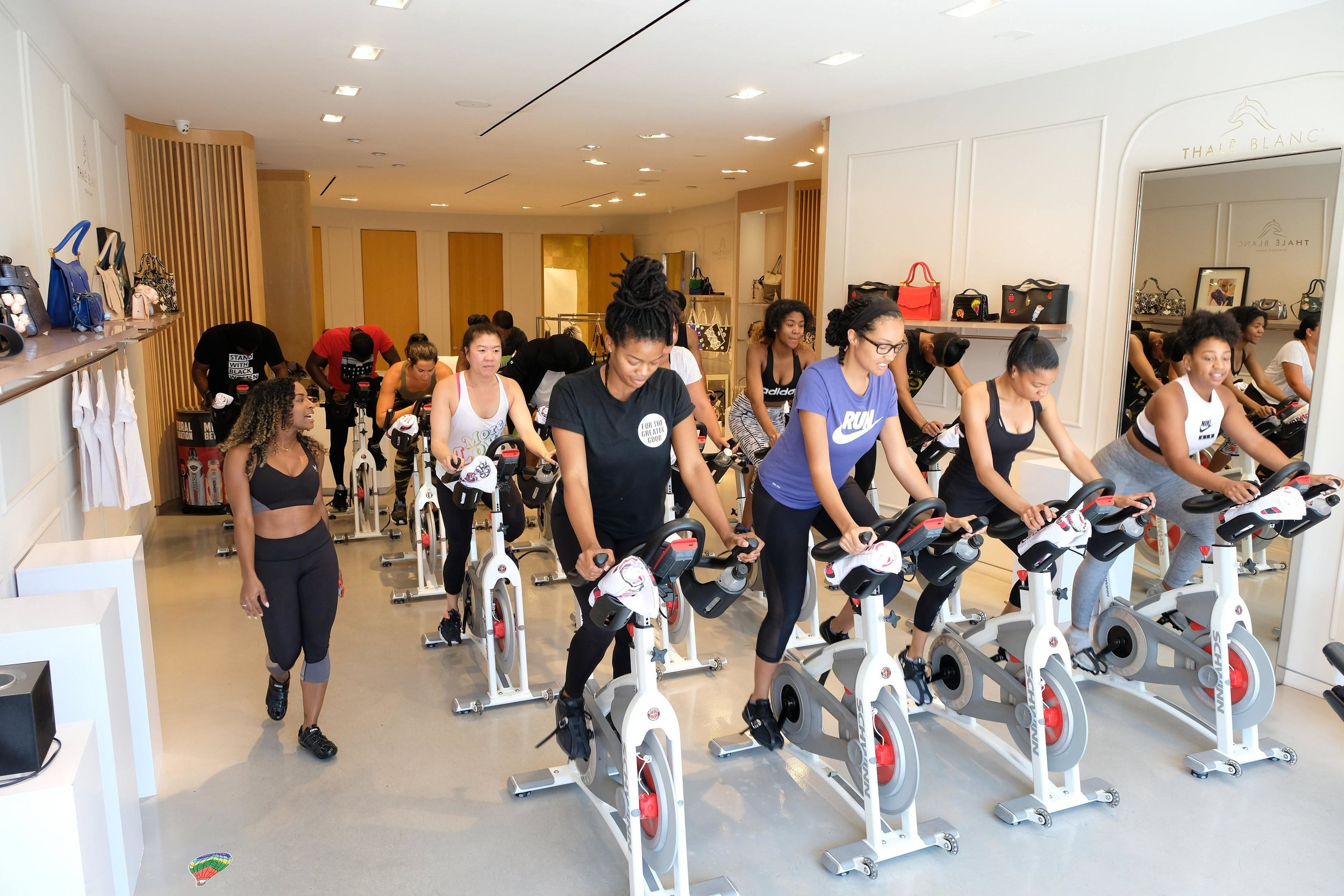 Spiked Spin: Fashion & Fitness