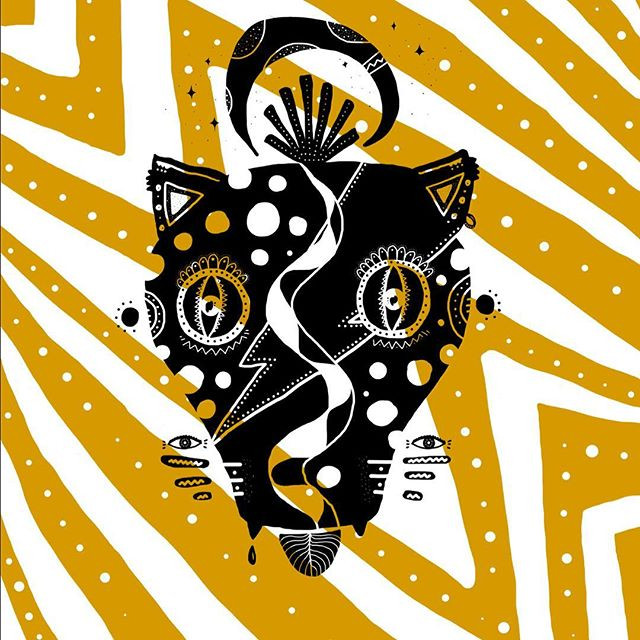 DiZzY cAt #illustration #ilustracion #digitalart #art #illustrationoftheday #laluqueria #creative #creativestudio #fun #alegria #surf #skate #inspiration