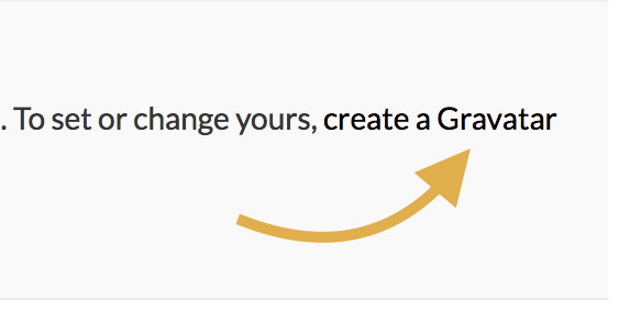 Image 3: Create Gravatar