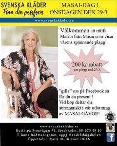 Passa på att inhandla dina vårkläder med vårat erbjudande ! Gilla och dela oss på Facebook för ytterligare rabatt!