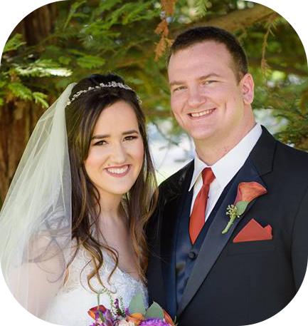 """""""Our video turned out beautifully, and I am so pleased with the quality and style of the final product. Now that our wedding is over, I have recommended him to other friends I have who are getting married. If you hire Walker Creative Media, you will not be disappointed!"""" - - Ashlyn & Logan Airheart"""