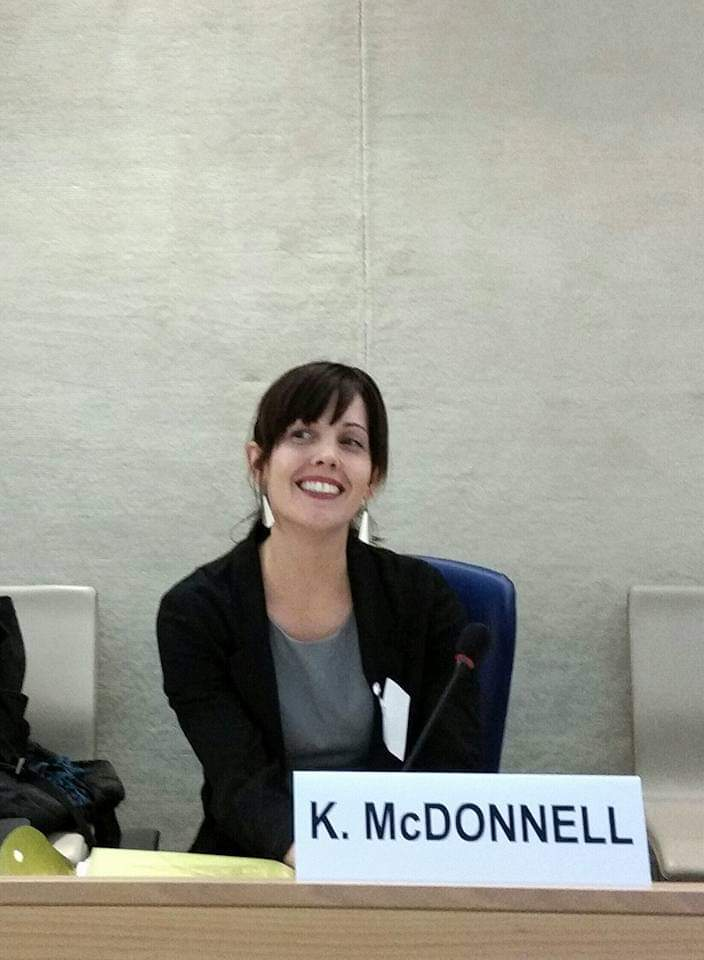 Katherine at the UN Forum on Business and Human Rights (November 2017)