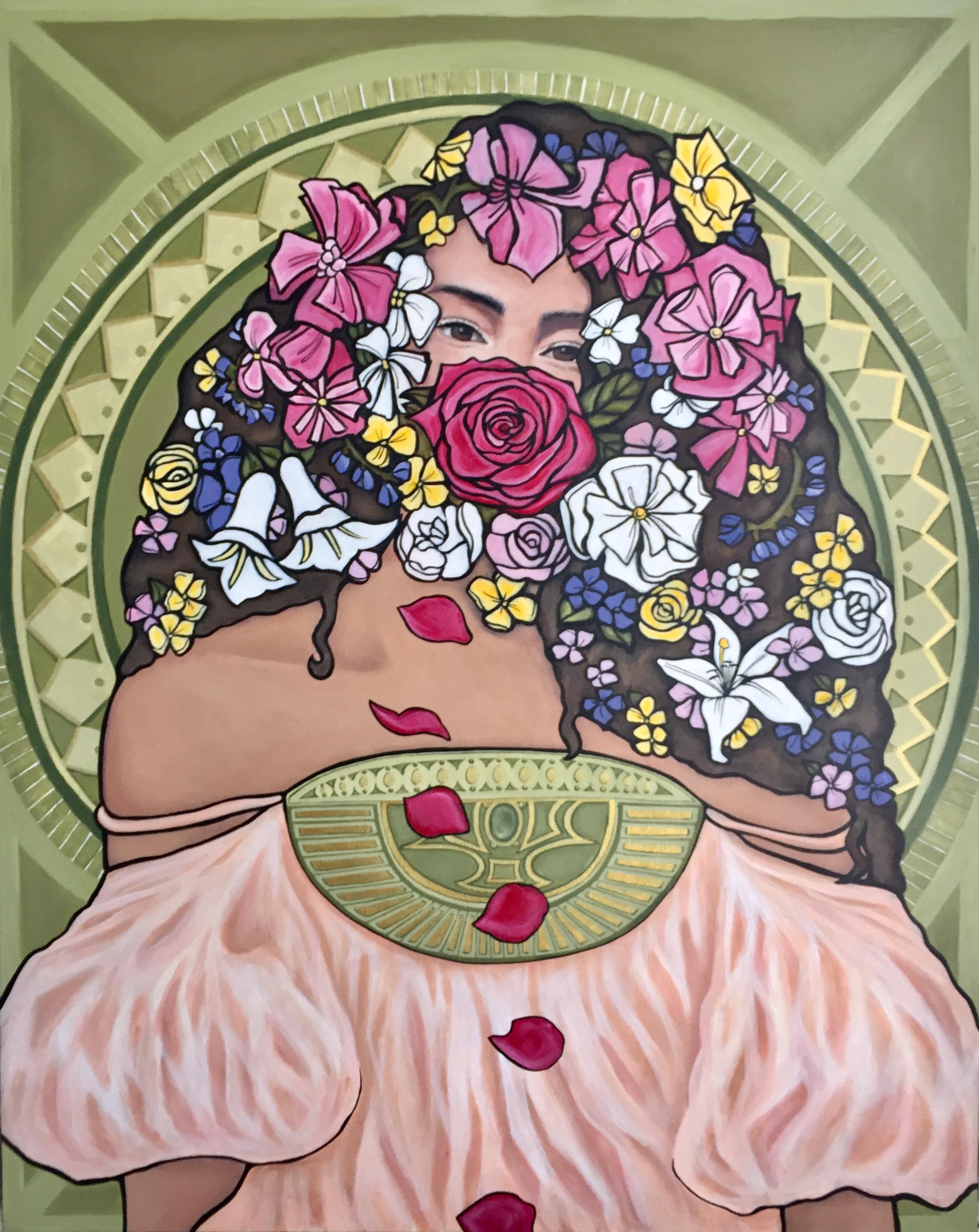My Daydream   2017. Acrylic on canvas. 24 x 30.  $600 -  SOLD