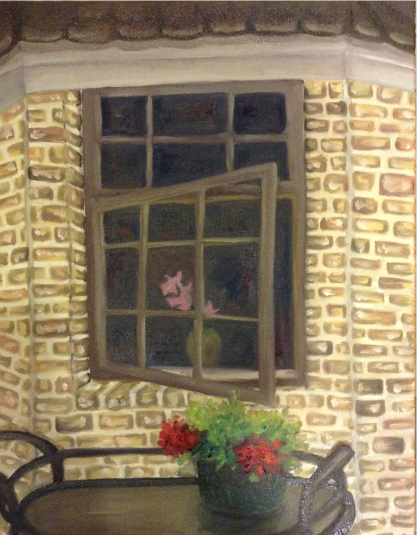 View of a Window   2013. Oil on canvas.