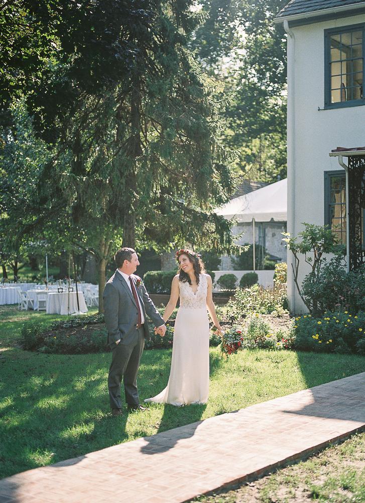Fall Wedding Duportail House-Chesterbrook, PA | Lisamarieartistry.com (43 of 51).jpg