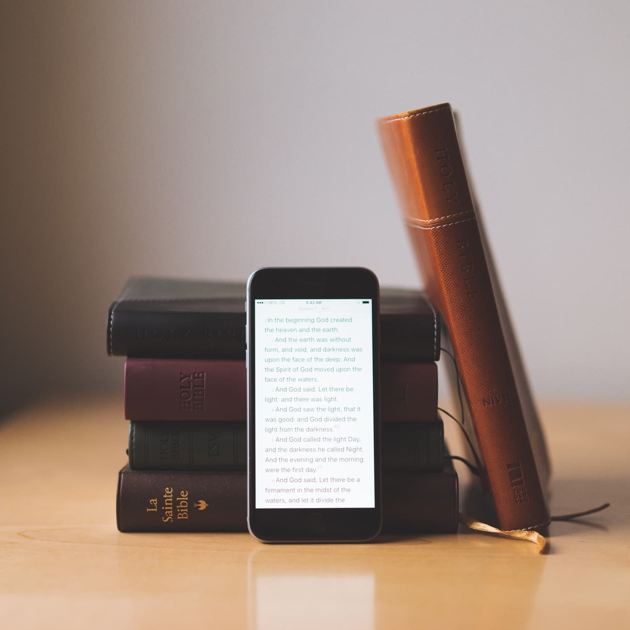 The Bible App - YouVersion is a valuable source for spending more time in God's word. Choose from more than 1,200 Bible versions in over 900 languages on your computer, phone, or tablet -- with many available as audio Bibles.