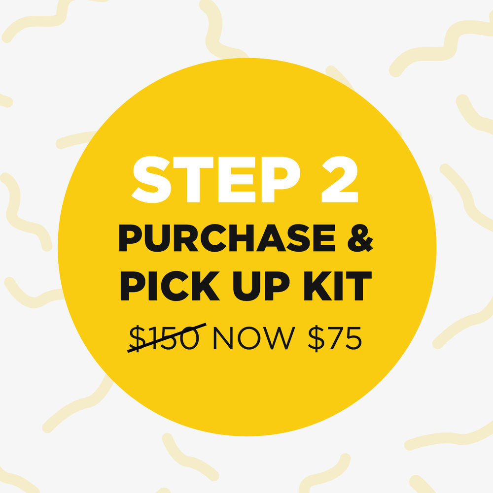 Step 2 - When you have completed Step 1 then you can continue on to Step 2 for purchasing your kit. Kits were originally $150 but The Springs has gotten that price down to $75. You will only need to purchase one kit per household.