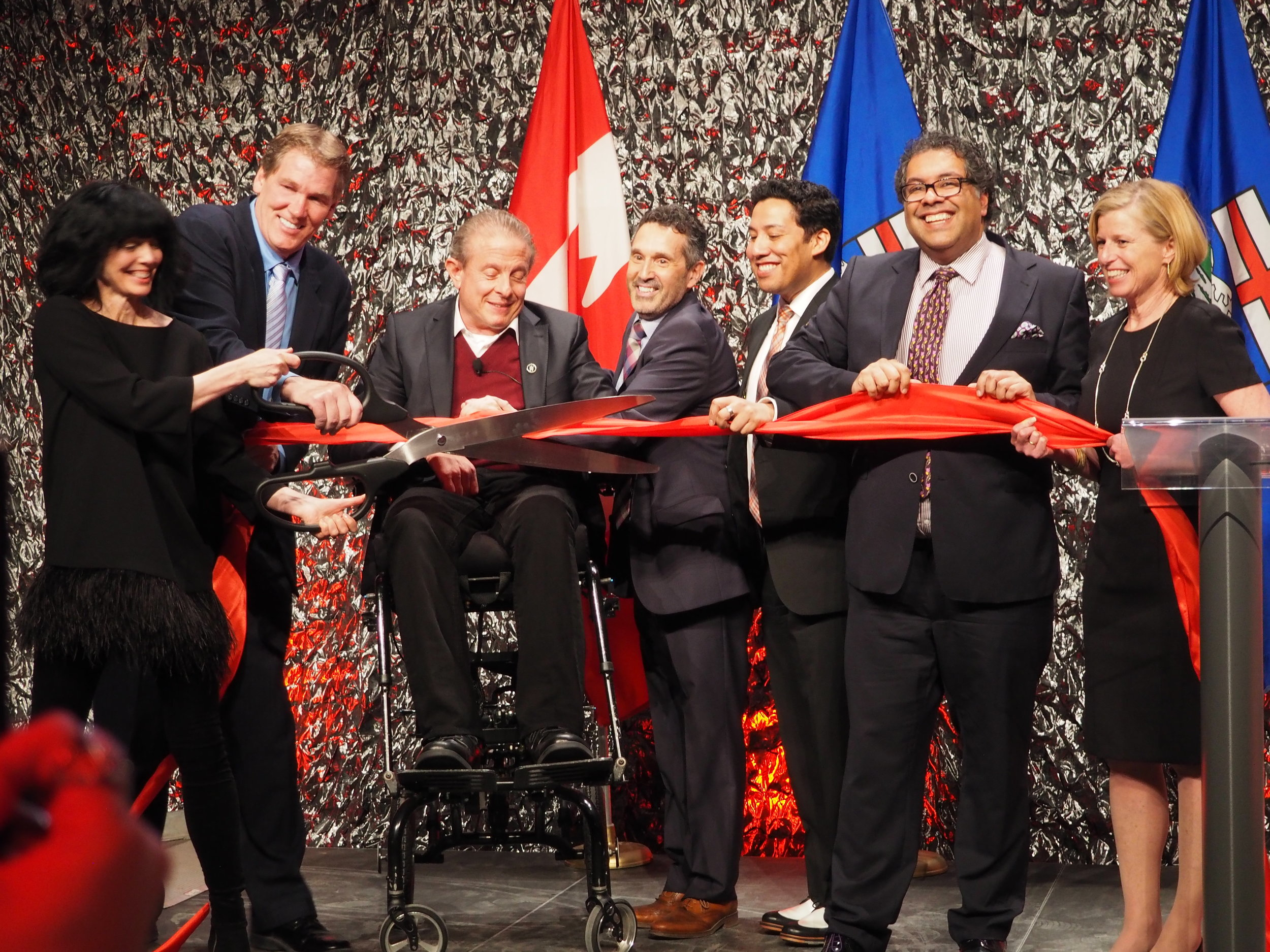 Grand Opening of the Calgary Film Centre, May 19, 2016