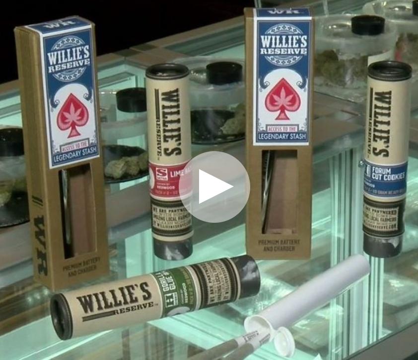 Willie Nelson products kick off 'mature' marijuana market in Las Vegas