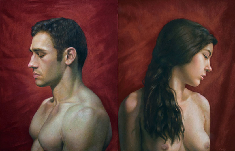 Profiles (Diptych)