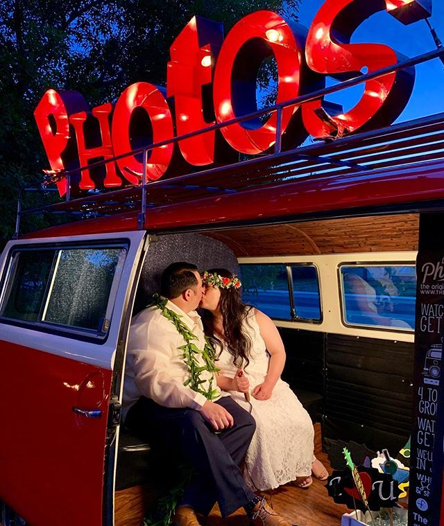 Let's congratulate our beautiful couple Ria & Nathan!! Thank you for having The Photo Bus on your very special day. We love being a part of every single wedding. • • • • • #thephotobusvegas #cityoflights #sincity #lasvegas #vegas #vwphotobooth #lasvegaswedding #mobilephotobooth #theoriginalvwphotobooth #photobooth #lasvegasphotobooth #photobus #photoboothbus #kombi #powercouple #smallbusinessowner #yourfavoritephotobus  #thankful #love #weddings #wedding #happiness #powercouple #lasvegasvendors #instagram #vendor