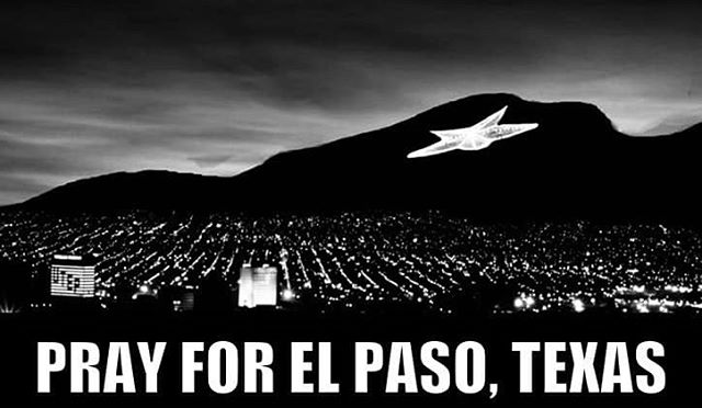 Please pray for my hometown El Paso, Texas. @thephotobusep please stay safe this weekend!!! Sending you guys a lot love and prayers.