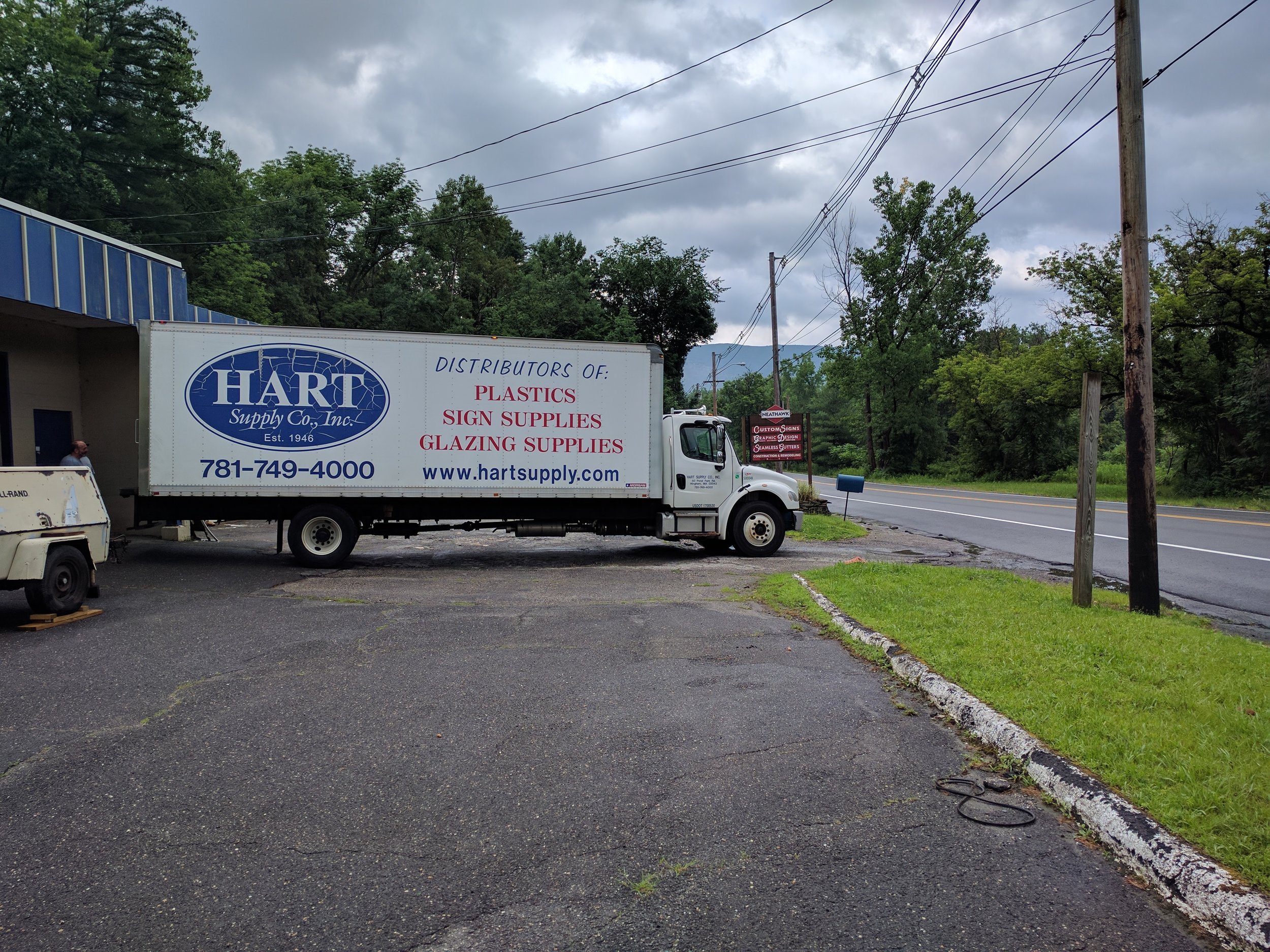 Hart Supply 1st Delivery