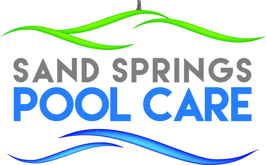 Sand Springs Pool Care Logo