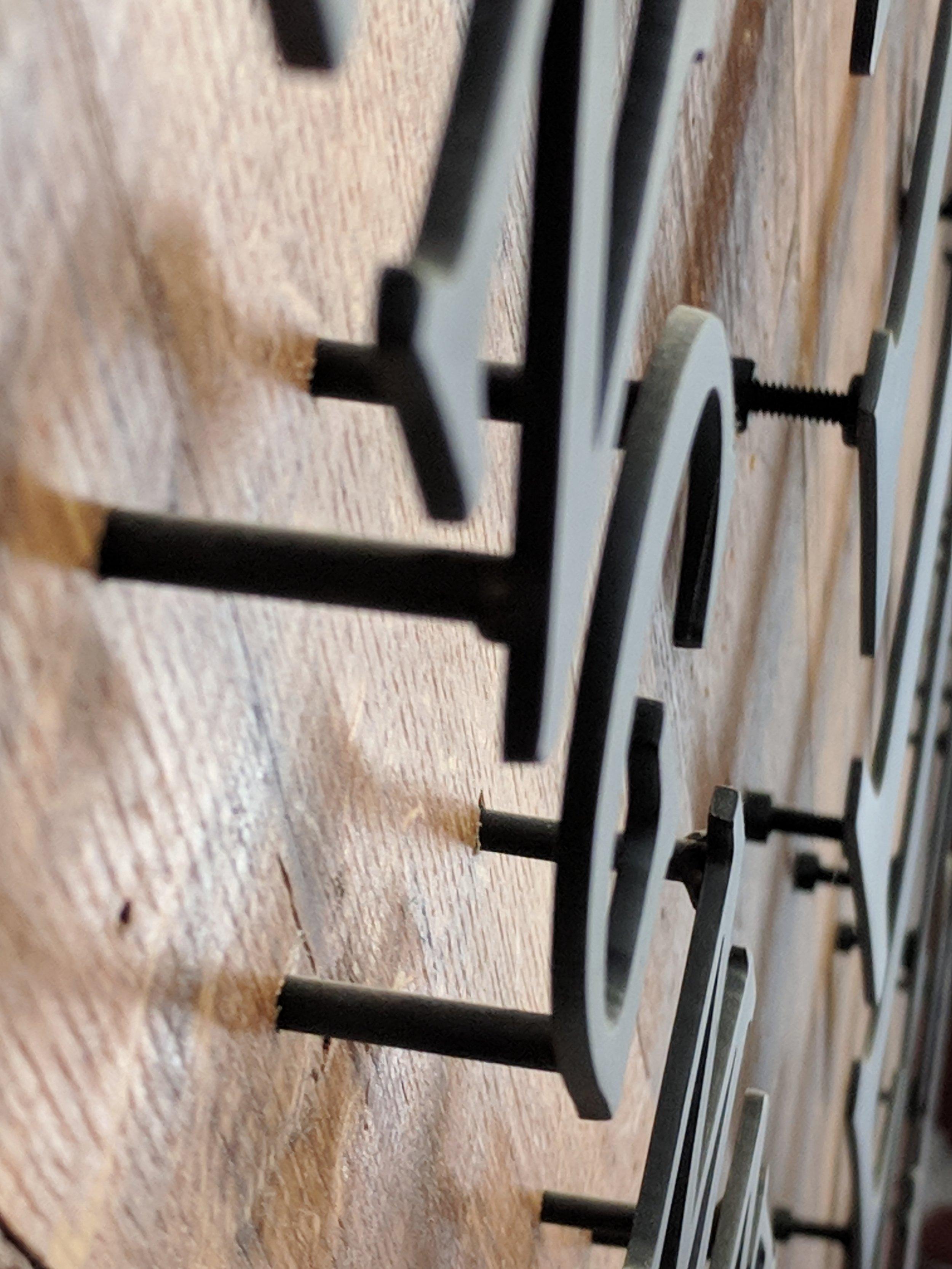 11GA Steel Letters