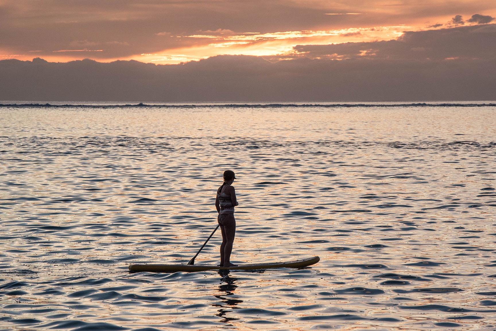 © Te Mana Travels — Lagoon paddleboarding