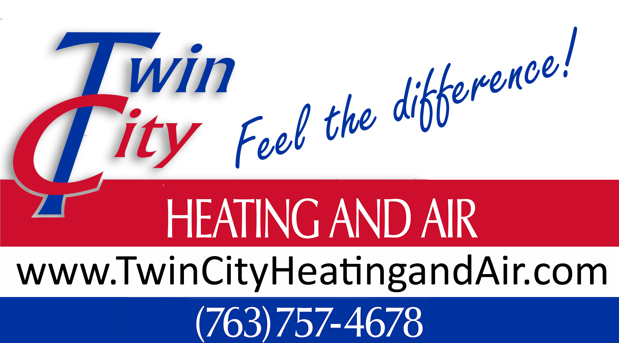 Twin City Heating and Air Feel the difference Logo with web.png