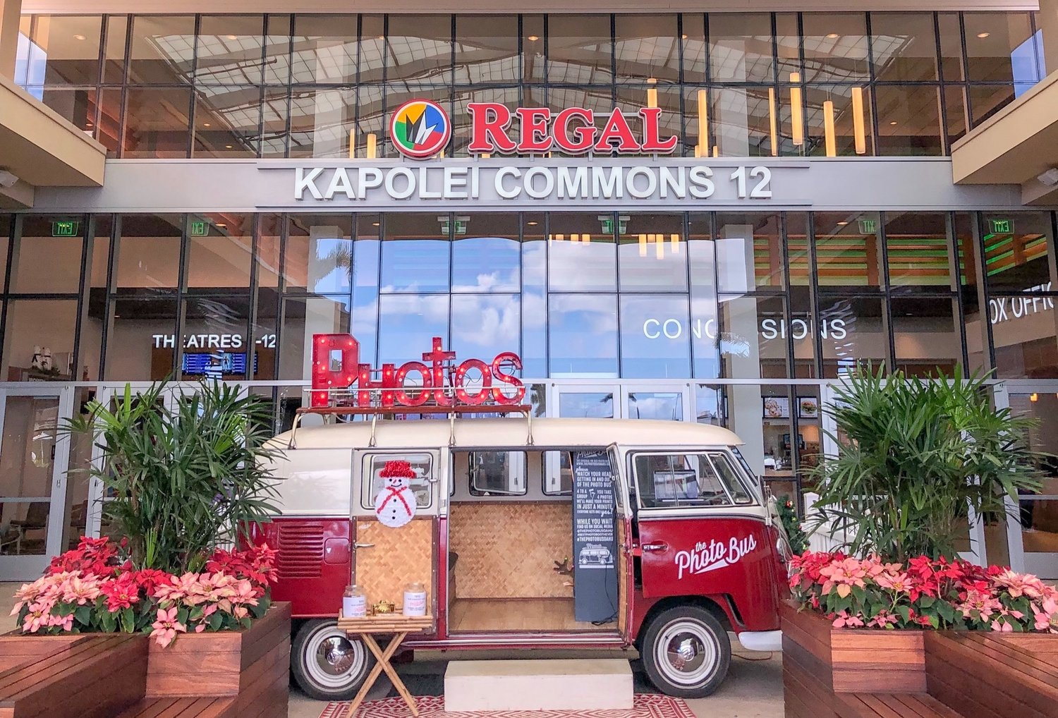 The Photo Bus Oahu - A Mobile Photo Booth in a Vintage VW Bus