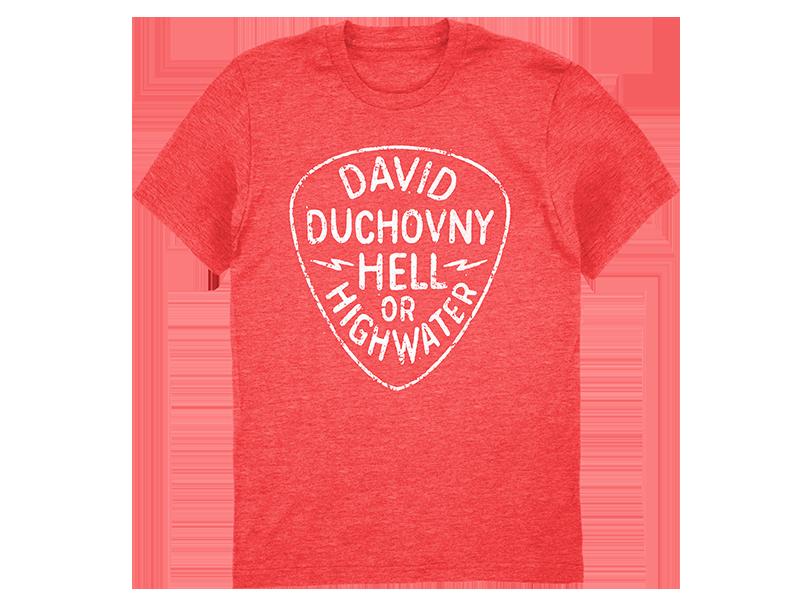 David Duchovny Red Ladies Tee .png