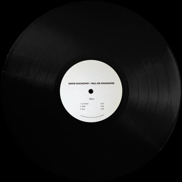 David Duchovny vinyl disc