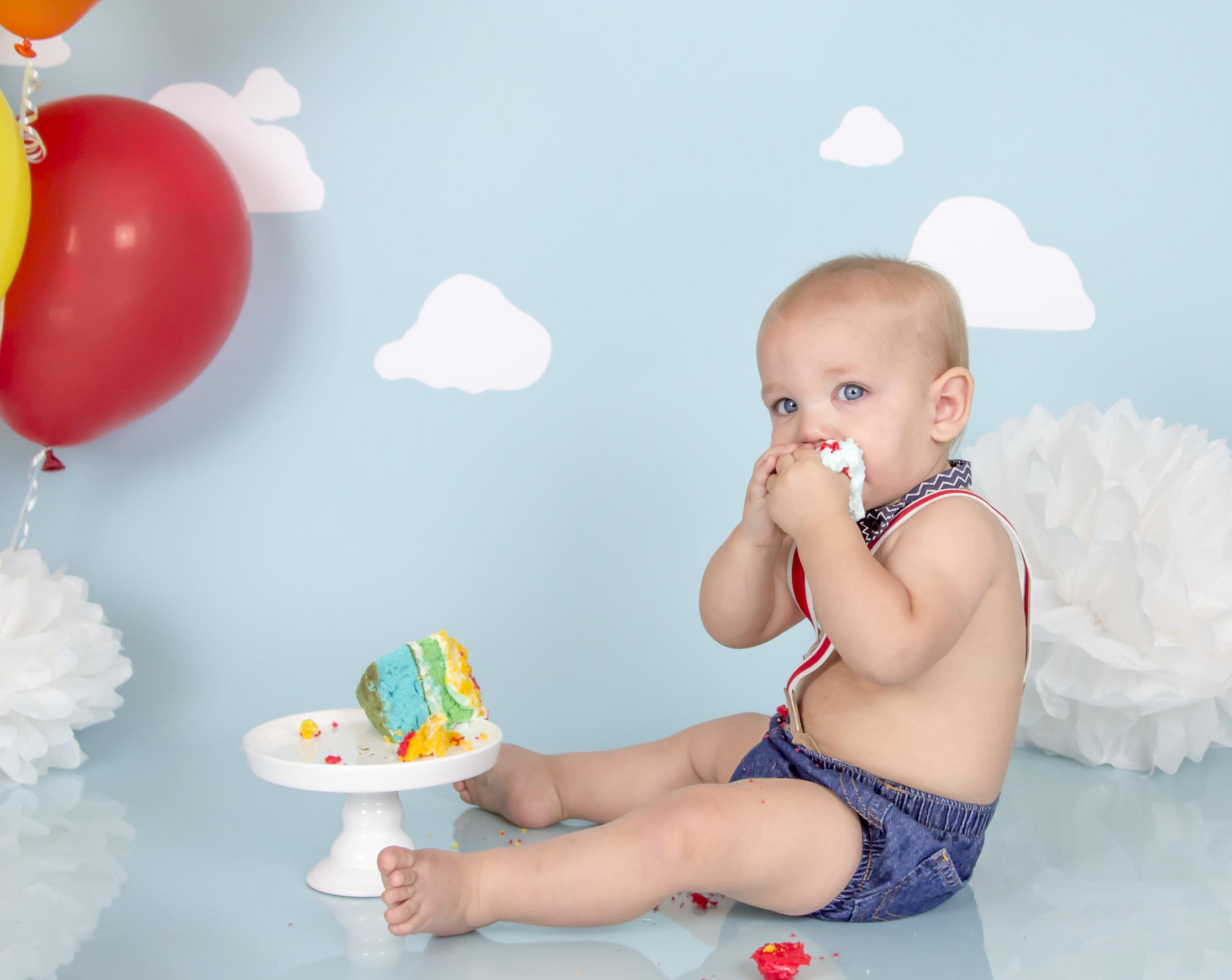 Baby Boy Cake Smash