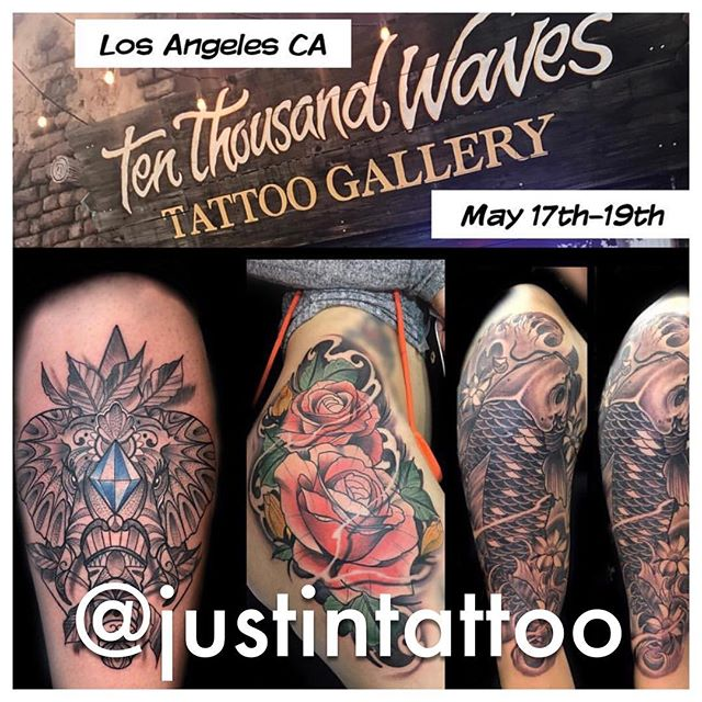 @justintattoo is returning in May. Reach out and grab your spot.