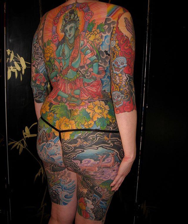Bodysuit by @jojoackermann_10kwaves @tenthousandwavestattoo #LosAngeles #ShermanOaks #StudioCity #VenturaBoulevard #SantaCarita #Valencia #Lancaster #Palmdale #traditionaltattoos #Finelinetattoo #Japanesetattoo #Colortattoo #Boldtattoos #Blackandgreytattoos #blackwork#boldwillhold #realtattoos#watercolortattoo#tattoo #tattooedgirls#tattooedmen #bodytattoo #tattoosleeve #tattooart #tattooshop #tattooculture